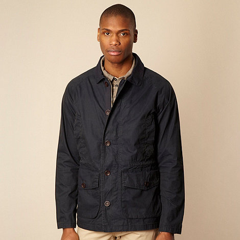 RJR.John Rocha - Big and tall black lightweight waxed jacket
