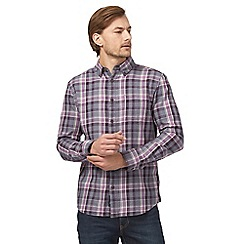 RJR.John Rocha - Purple checked shirt