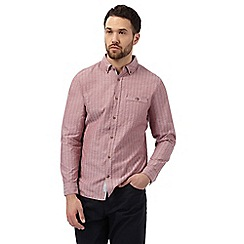 RJR.John Rocha - Red textured shirt