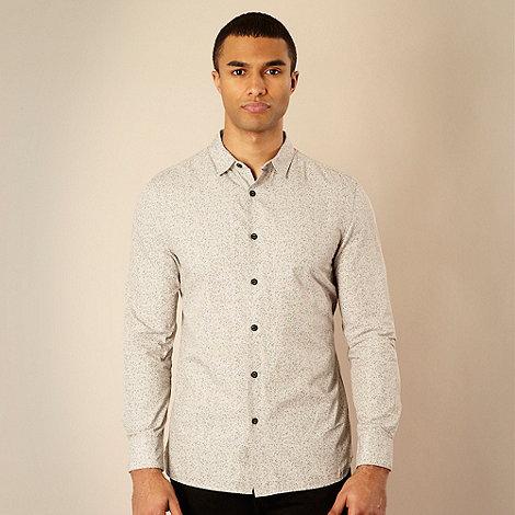 RJR.John Rocha - Designer natural thistle printed shirt