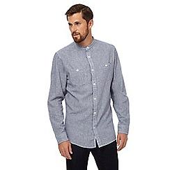 RJR.John Rocha - Blue puppytooth shirt