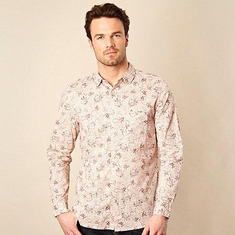 RJR.John Rocha - Rose dandelion patterned long sleeved shirt