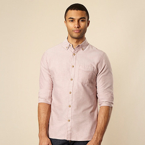 RJR.John Rocha - Rose mottled long sleeved shirt