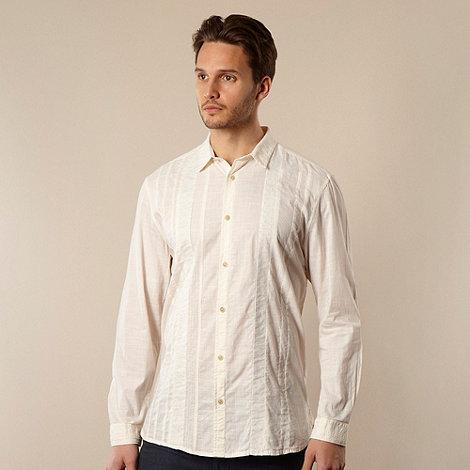 RJR.John Rocha - Designer off white cut and sew shirt