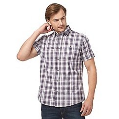 RJR.John Rocha - Big and tall purple checked shirt