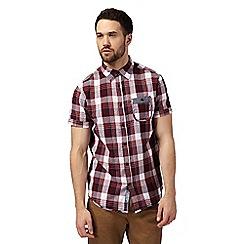 RJR.John Rocha - Big and tall red checked shirt