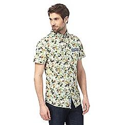 RJR.John Rocha - Big and tall multi-coloured botanical print regular fit shirt