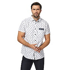 RJR.John Rocha - White printed tailored fit shirt