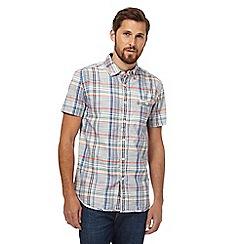 RJR.John Rocha - Blue check print shirt