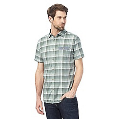 RJR.John Rocha - Big and tall green checked shirt