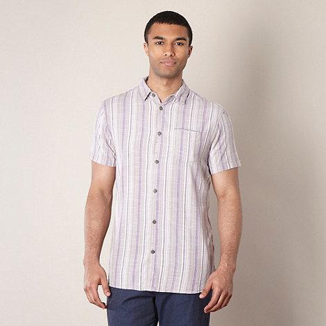 RJR.John Rocha - Designer mauve multi striped shirt