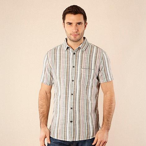RJR.John Rocha - Designer grey multi striped shirt