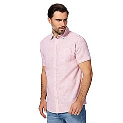 RJR.John Rocha - Big and tall light pink regular fit shirt