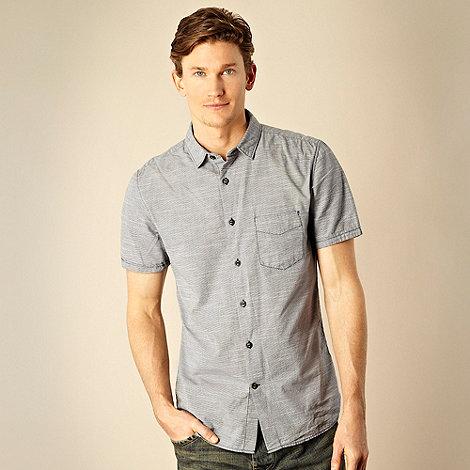 RJR.John Rocha - Designer navy ditsy print shirt