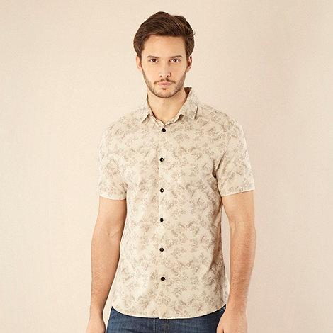 RJR.John Rocha - Designer natural floral printed shirt