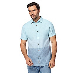 RJR.John Rocha - Big and tall blue striped regular fit shirt