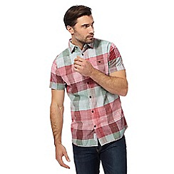 RJR.John Rocha - Red checked short sleeved shirt