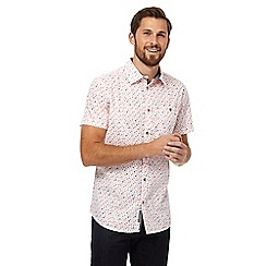 RJR.John Rocha - Big and tall white thistle print shirt