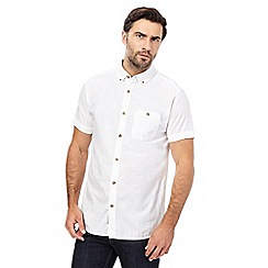 RJR.John Rocha - White textured stripe shirt