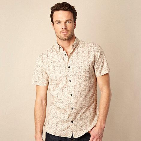 RJR.John Rocha - Natural +vintage+ floral shirt