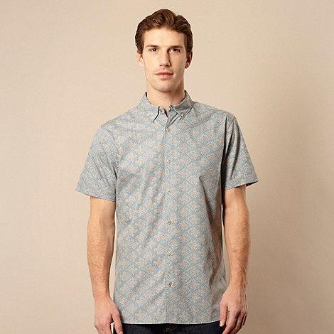 RJR.John Rocha - Designer light blue icon print shirt