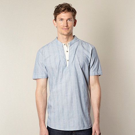 RJR.John Rocha - Designer blue striped kaftan