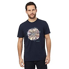 RJR.John Rocha - Big and tall navy embroidered detail t-shirt