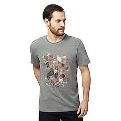 RJR.John Rocha - Grey printed t-shirt