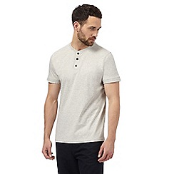RJR.John Rocha - Big and tall cream notch neck t-shirt