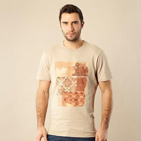 RJR.John Rocha - Designer natural geometric t-shirt