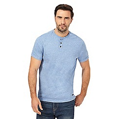 RJR.John Rocha - Blue  grandad t-shirt