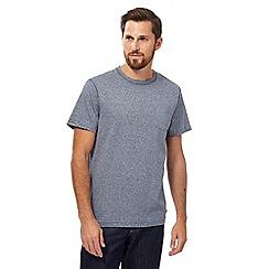 RJR.John Rocha - Big and tall navy grindle crew neck t-shirt
