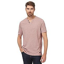 RJR.John Rocha - Red notch neck t-shirt