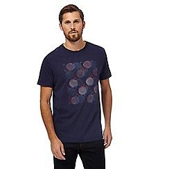 RJR.John Rocha - Big and tall navy circle sketch print t-shirt
