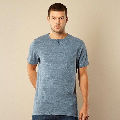 RJR.John Rocha - Designer pale blue faded striped t-shirt