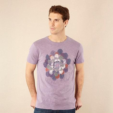 RJR.John Rocha - Designer light purple watercolour circles t-shirt
