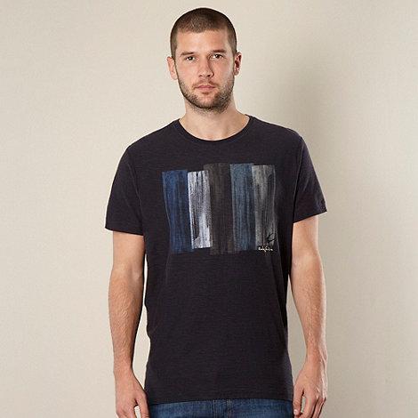 RJR.John Rocha - Designer navy water mark t-shirt