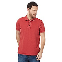 RJR.John Rocha - Big and tall red pique polo shirt