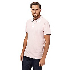 RJR.John Rocha - Big and tall pink pique polo shirt