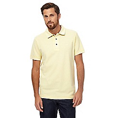 RJR.John Rocha - Yellow pique polo shirt