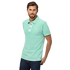 RJR.John Rocha - Big and tall green textured polo shirt