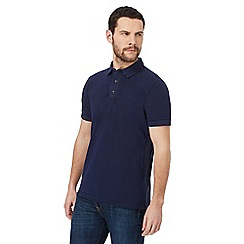 RJR.John Rocha - Big and tall navy pique polo shirt