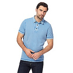 RJR.John Rocha - Light blue pique polo shirt