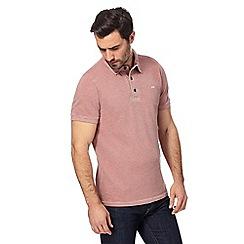 RJR.John Rocha - Orange textured polo shirt