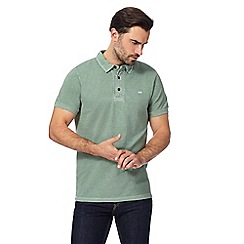 RJR.John Rocha - Green textured polo shirt