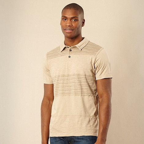 RJR.John Rocha - Big and tall natural cut and sew polo shirt