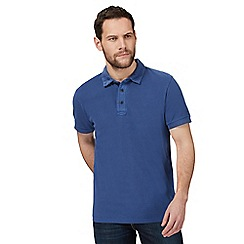 RJR.John Rocha - Blue textured polo shirt