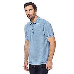 RJR.John Rocha - Blue striped polo shirt