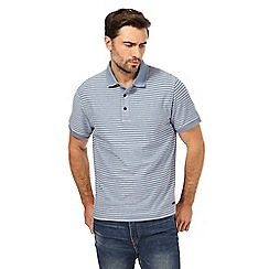 RJR.John Rocha - Blue striped polo shirt