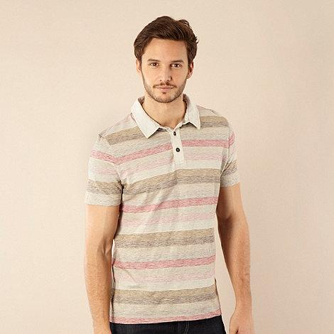 RJR.John Rocha - Designer natural striped polo shirt